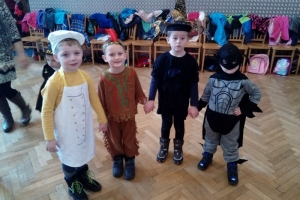 Maškarní karneval Lužany